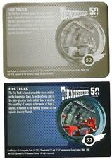 Thunderbirds 50 Years Printing Plate for Base Card #52 Fire Truck [ back ]
