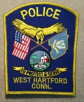 CT West Hartford Connecticut Police Patch