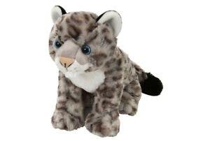 Snow Leopard Cub Plush Stuffed SoftToy 30cm/12in  by Wild Republic