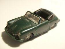 PRALINE avec boite - PORSCHE 356 C cabriolet vert