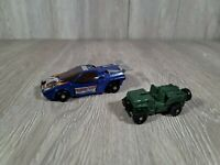 Vintage 1984 Select Convertors Transformers Gobots Monty Carlo And Jeep