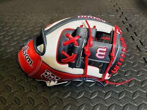 "2021 Limited Edition Wilson A2000 1786 USA 11.5"" Infield Baseball Glove A2K RARE"