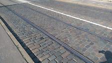 Großpflaster bunt-dunkel, gebraucht, reihenfähig, Naturstein, Kopfsteinpflaster