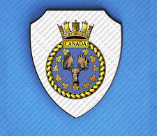 HMS CANADA WALL SHIELD