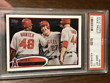 2012 Topps Mike Trout RC #446 Rookie Season PSA 10 Gem Angels