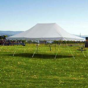 Weekender 20x30 Pole Tent Canopy Commercial Event Party 14 Oz PVC Vinyl Shelter
