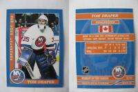 2015 SCA Tom Draper New York Islanders goalie never issued produced #d/10