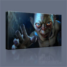 LORD OF THE RINGS HOBBIT SMEAGOL ICONIC CANVAS ART PRINT PICTURE Art Williams