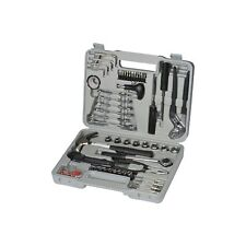 Am-Tech 141 piezas Tool Kit Con Enchufe, Destornillador, Llave, martillo, alicates y Estuche