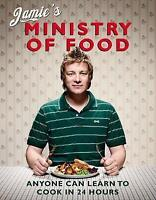 Jamie's Ministry of Food: Anyone Can Learn to Cook in 24 Hours-ExLibrary