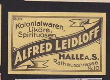 Ancienne étiquette  allumettes Allemagne BN104659