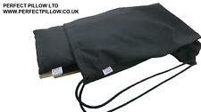 Parfait oreiller ltd - 100% coton organique, la méditation yoga tabouret sac à cordons