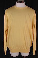 Deportivo qué bonito Dalmine u.o.m.o suéter, suéter 100% lana virgen amarillo talla 56