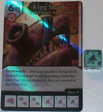 Foil KING SHARK: UNDERWATER AGGRESSION 25 Green Arrow and The Flash Dice Masters