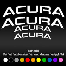 "5"" Curve Acura Brembo BBK Brake Caliper High Temp RL TL TSX Vinyl Decal sticker"