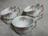 Vintage Tea Cup (5 ) Elite Works Limoges France Roses