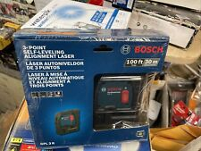 Factory Seal Bosch 100 3 Point Self Leveling Alignment Laser Gpl 3 R Free Ship