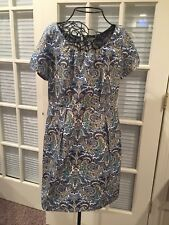 J. Crew Dolores dress  peacock  paisley sheath  size 12   $148