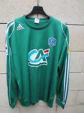 Maillot COUPE de FRANCE porté n°14 ADIDAS football shirt collection vert CA PMU