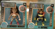 Dc Universe Metals Wonder Woman Batgirl Die-Cast Figure Lot of 2 Jada Sealed