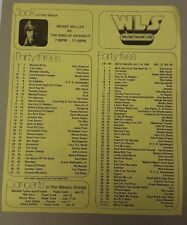 Chicago WLS List/Musicradio89 Survey- 10 random surveys