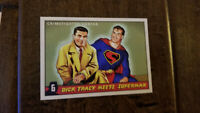 2018 ACHERON MINT ARCHIVES PREVIEW PROMO CARD DICK TRACY MEETS SUPERMAN
