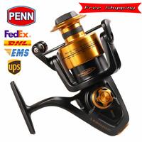 Original PENN SPINFISHER V SSV 3500-10500 Spinning Fishing Reel 5+1BB Full Metal