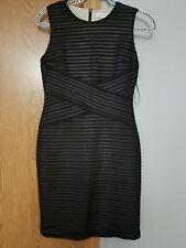 Calvin Klein dress size 2 Black Body Con