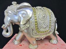 Unbranded Resin Elephant Candle & Tea Light Holders