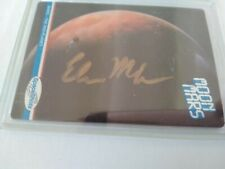 ELON MUSK SIGNED CARD THIS WAS PURCHASED AT RHE NASA SPACE MUSEUM COA SPACESHOTS