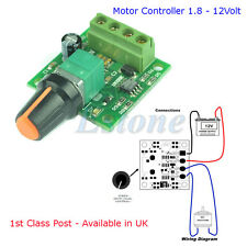 DC 1.8V 3V 5V 6V 12V Motor Speed controller PWM disponibile in UK - 1st Class Post