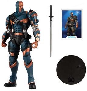 McFarlane - DC Multiverse Arkham Origins Deathstroke Action Figure IN STOCK