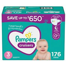 Pampers Cruisers Diapers Size 3 - 176 ct. (16-28 lb.)