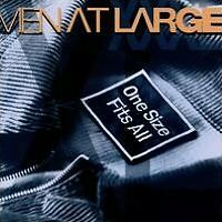One Size Fits All - Men At Large - CD New Sealed