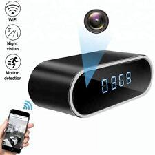 Spy Camera WiFi Hidden Wireless Night Vision Security Nanny Cam HD 1080P Alarm