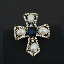 Dame Silber Gold Pins Und Brosche Vintage Kristall Strass Cc Broschen Pin Kanal Brosche Pins Pullover Brosche Für Frauen Home