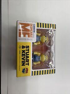 Medicom 2020 Be@rbrick Despicable Me 3 Minions 100% Stuart & Kevin bearbrick Set