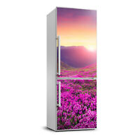 Self adhesive Fridge Magnet removable Sticker Landscapes Rhododendron mountains