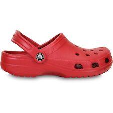 Sandalias y chanclas de hombre en color principal rojo sintético