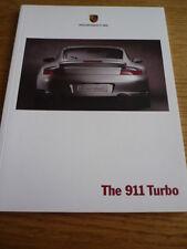 PORSCHE 911 Turbo Opuscolo JM