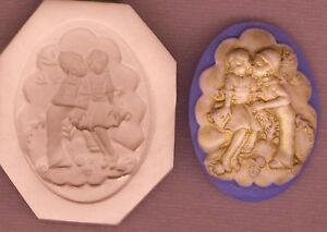 CAMEO First Love & Kiss Hard Polymer Clay Mold 0 S/H OFFER 2
