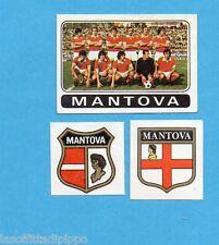 FIGURINA PANINI 1972/73-n.397- MANTOVA - SQUADRA+SCUDETTO+STEMMA-Rec