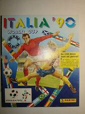 Panini Fussball Album WM World Cup Italia 90 , Sammelalbum 1990 , Top Zustand
