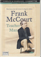Frank McCourt Teacher Man 8 Cassette Audio Book Unabridged Autobiography