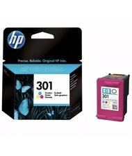 Genuine HP 301 Colour Ink Cartridge.