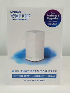 Linksys Velop Dual Band AC1200 Mesh WiFi System 1 Pack Router Replacement