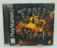Tiny Tank (Sony PlayStation 1, 1998) Complete CIB Black Label PS1