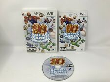 Family Party: 90 Great Games Party Pack - Nintendo Wii (works on Wii-U) Complete