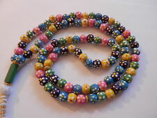Prayer Beads 99 Misbaha Tasbih Tasbeeh Rosary  Muslim Worry  Beads Subha   WD