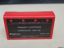 Snap On Mt2500mtg2500 Scanner Chrysler 1983 1992 Primary Cartridge Free Ship